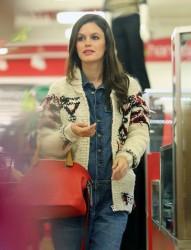 Rachel Bilson - Shopping in Beverly Hills 12/4/13