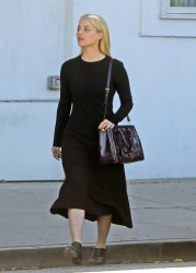 Dianna Agron - Leaving Byron Williams Salon in Beverly Hills 12/4/13