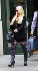 Jessica Simpson - out in NYC 12/5/13