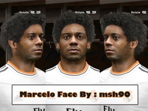 Marcelo PES14 Face by msh90