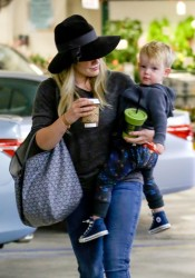 Hilary Duff - at Whole Foods in Beverly Hills 12/6/13