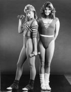 Alexandra Paul: B&W Leotard Pic - TOO CUTE - HQ x 1