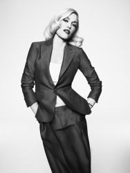 Gwen Stefani - Fashion Magazine, March 2015