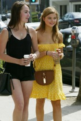 Stefanie Scott at a Farmers Market in Hollywood 4/5/15 x12
