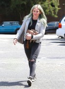 Hilary Duff - Going to a dance studio in LA 4/7/15