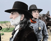 Willie Nelson and Johnny Cash - Colored Picture - x 1