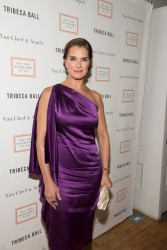 Brooke Shields - 2015 Tribeca Ball in NYC 4/13/15