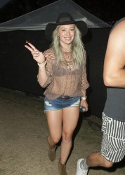 Hilary Duff - 2015 Coachella Music Festival Weekend One/Day Three 4/12/15