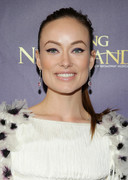 Olivia Wilde attends the opening night of 'Finding Neverland' at Lunt-Fontanne Theatre in New York Cityon April 15, 2015