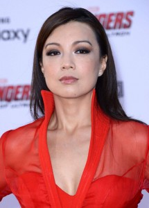 "Ming-Na Wen, ""Avengers: Age Of Ultron"" premiere, Hollywood, 13/04/2015"