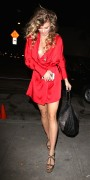 AnnaLynne McCord - at Craig's Restaurant in West Hollywood - Nipple Slip