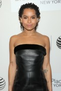 Zoe Kravitz - Wears Black Leather At 'Good Kill' Premiere in NYC (4/19/2015)