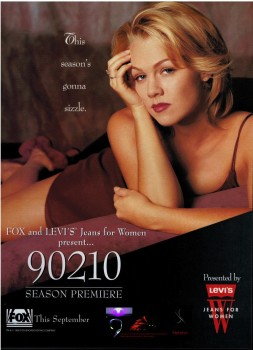 Jennie Garth: Sexy Promo Ad For 90210 -1995