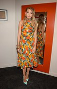 "Blake Lively - Backstage at ""The Chew"" in NYC 4/22/15"