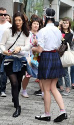 Katy Perry - Sexy Legs - Out In Japan - April 24 2015