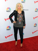 Christina Aguilera - NBC's 'The Voice' Season 8 Red Carpet Event in West Hollywood 4/23/15