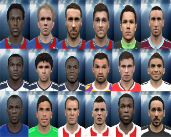 PES 2015 EPL Mega FacePack 3 by rednik