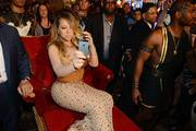 Mariah Carey arrives at Caesars Palace to launch her residency 'MARIAH #1 TO INFINITY' on April 27, 2015 in Las Vegas, Nevada
