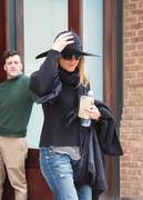 Jennifer Aniston seen leaving her NYC hotel April 27-2015 x71