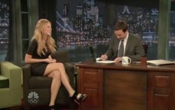 Blake Lively on Jimmy Fallon  2009.11.26