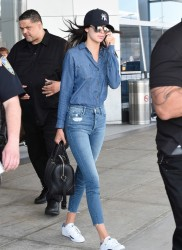 Kendall Jenner - At JFK Airport 5/3/15