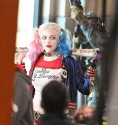 Margot Robbie - Filming 'Suicide Squad' in Toronto 5/3/15