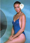 Jenny Agutter: Sexy In Blue One-Piece - HQ x 1 *Tagged*