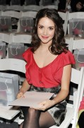 Alison Brie @ Tetra Pak & O.N.E. at Lela Rose Mercedes-Benz Fashion Week (Fall 2010)