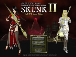 SKUNK2. Half-elf & mage edition