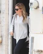 Ashley Tisdale - Leaving a hair salon in LA 5/29/15
