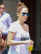 Jennifer Lopez -Lookin' Sporty In Leggings Out And About In NYC (6/11/15)