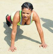 Christina Milian - Working Out Filming 'Christina Milian Turned Up' in LA (6/11/15)